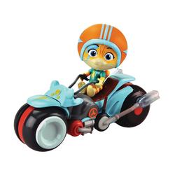 Figurine Eclair et sa moto 44 Chats