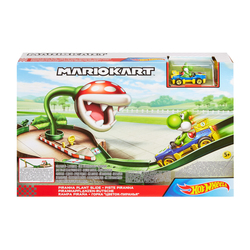 Piste Dangers Mario Kart Hot Wheels - Piranha