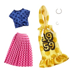 Barbie - Coffret de 2 tenues N°25