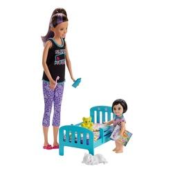 Barbie - Coffret Babysitter heure du dodo