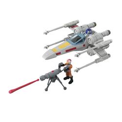 Véhicule X-Wing Fighter et figurine Luke Skywalker - Star Wars Mission Fleet