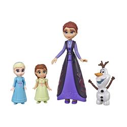 Mini poupées Olaf Iduna et enfants Elsa Anna - La Reine des Neiges 2