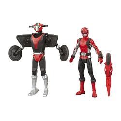 Figurine Ranger Rouge 15 cm et zord - Power Rangers Beast Morphers