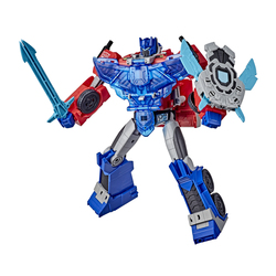 Figurine électronique Optimus Prime 25 cm - Transformers Cyberverse Adventures