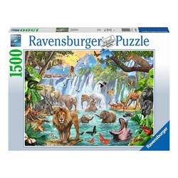 Puzzle 1500 pièces - Cascade dans la jungle