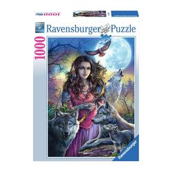Puzzle 1000 pièces - La maîtresse des loups
