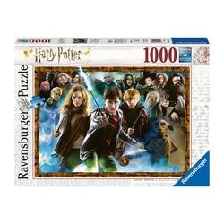 Puzzle 1000 pièces - Harry Potter et les sorciers