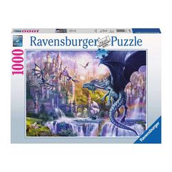 Puzzle 1000 pièces - Le château des dragons