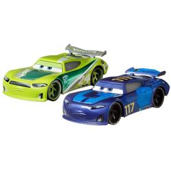 Cars - 2 véhicules Spikey Fillups & Chase Racelott