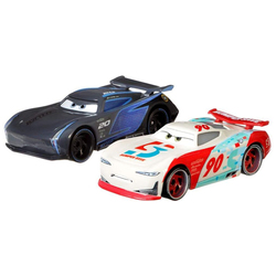 Cars - 2 véhicules Jackson Storm & Paul Conrev