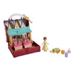 Figurine et Mini coffret Village d'Anna - La Reine des Neiges 2