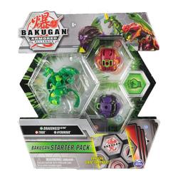 Bakugan - Starter pack Dragonoid Ultra - Trox - Hydorous - Saison 2