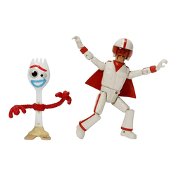 Toy Story 4 - Figurine Fourchette et Duke Caboom