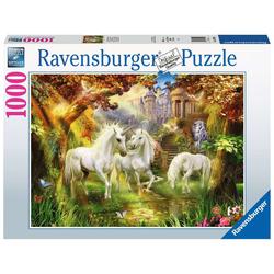 Puzzle 1000 pièces Licornes