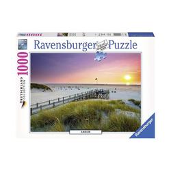 Puzzle 1000 pièces Coucher de soleil sur Amrum