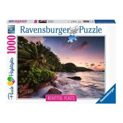 Puzzle 1000 pièces Praslin Island Seychelles