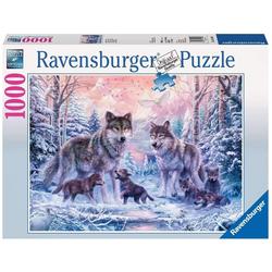 Puzzle 1000 pièces Loups arctiques