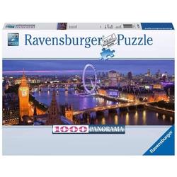 Puzzle 1000 Panorama Londres de nuit