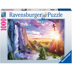 Puzzle 1000 Le bonheur du grimpeur