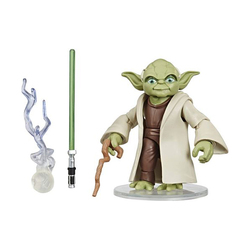 Figurine Yoda avec accessoires Star Wars 9
