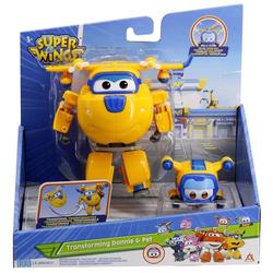 Figurines super wings transforming supercharge et super pets Donnie