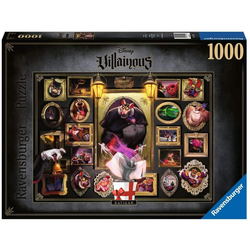 Puzzle Ratigan 1000 pièces - Collection Disney Villainous