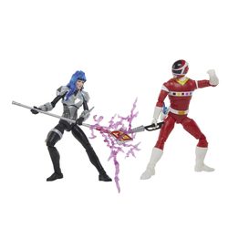 Pack 2 figurines Power Rangers Lightning Collection - In Space Red Ranger et Astronema