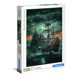 Puzzle 1500 pièces - Navire de pirates