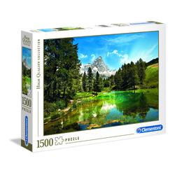 Puzzle 1500 pièces - Montagne et lac