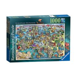 Puzzle 1000 pièces - European Wonders