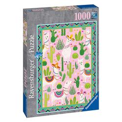 Puzzle 1000 pièces - Mignons alpagas