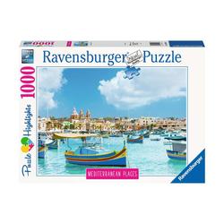 Puzzle 1000 pièces - Malte la méditerranéenne