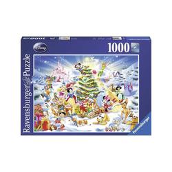 Puzzle 1000 pièces - Noël à Disney