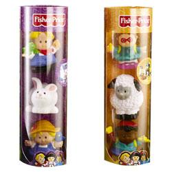 Tube Figurines Little People