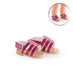 Sandales cerise poupée Ma Corolle
