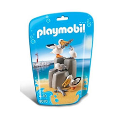 9070-Famille de pélicans - Playmobil Family fun