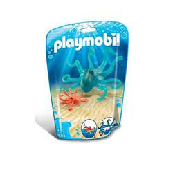 9066 - Pieuvre et son petit - Playmobil Family fun