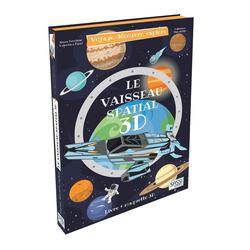 Vaisseau spatial 3D - Voyage, découvre, explore