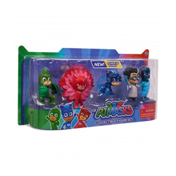 Coffret 5 figurines Pyjamasques