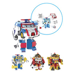 Figurine transformable Robocar Poli 10 cm