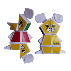 Rubik's junior lapin 3x2x1