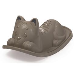 Bascule chat gris