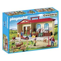 4897 - Playmobil Country - La ferme transportable