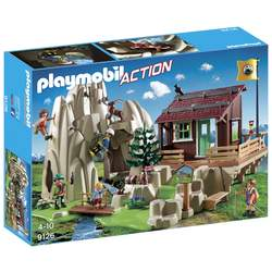 9126 - Playmobil Action - Rocher d'escalade et accueil