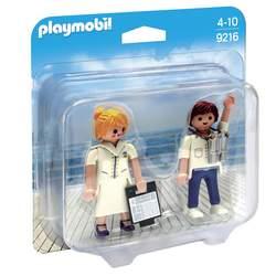 9216-Figurines Playmobil hôte et hôtesse de croisière
