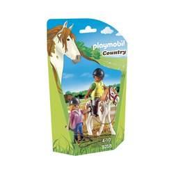 9258-Monitrice d'équitation Playmobil