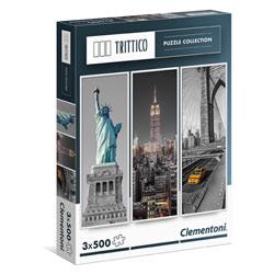 Puzzles triptyques 500 pièces New York