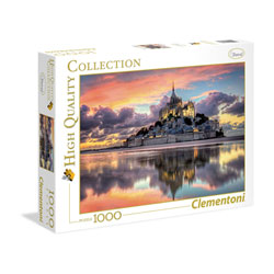 Puzzle 1000 pièces Mont Saint-Michel