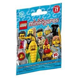 71018 - Mini figurines Lego série 17