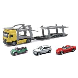 Camion Man avec 3 voitures